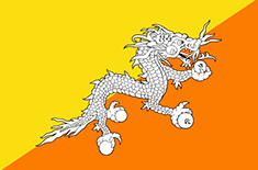 country Bhutan (Zentral)